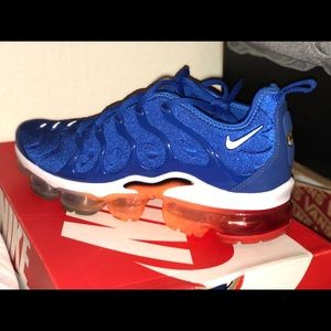 Nike Shoes Airmax Plus Blue Orange 85 Poshmark